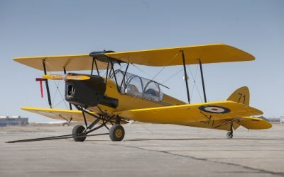 1942 DeHavilland DH82C Tiger Moth