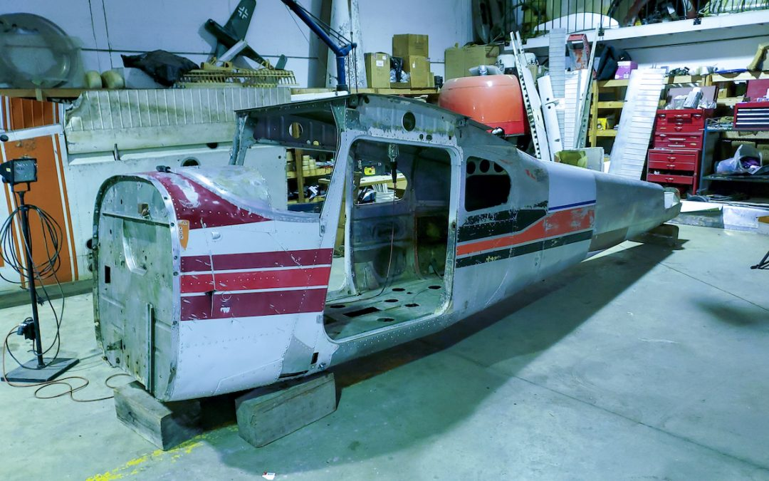 Restoration Project: A 1950's Cessna 180 Floatplane