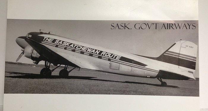 Saskatchewan Government Airways (SGA)