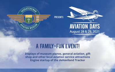 Annual Aviation Days – August 28 & 29, 2021